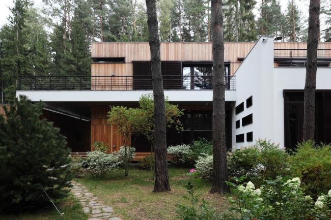Частный дом в Обушково © Архитектурное бюро Романа Леонидова