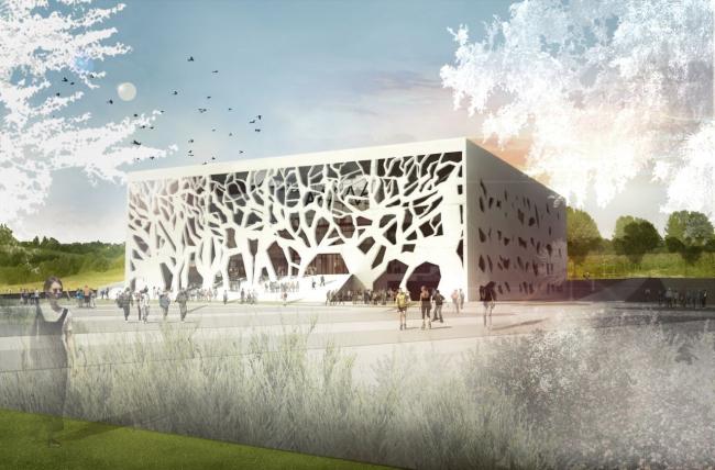 Культурный центр ANIMA. Общий вид © Bernard Tschumi Archiects