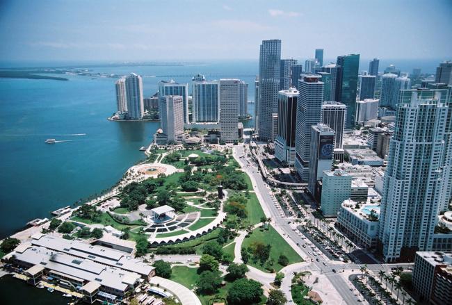 Парк Bayfront в Майами. Фото: guidepal.com