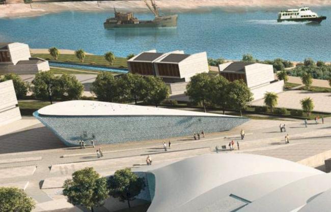 Центр культуры и исследования рыболовства и Международный музей морской керамики. Предоставлено OAC