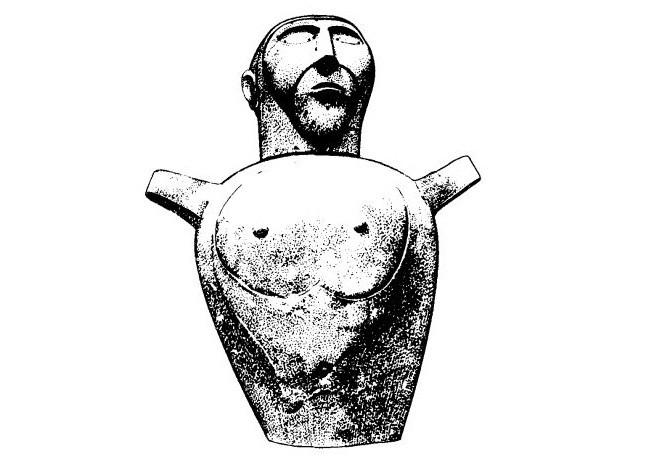 Погребальная урна этрусков. Источник: dictionary_of_ancient.academic.ru