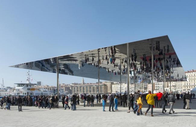 Павильон Старого порта в Марселе © Nigel Young / Foster + Partners