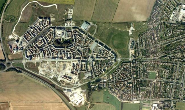 Паундбери в 2010 году. Источник: Google maps