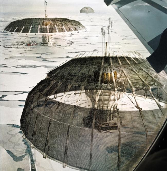 Первое место. Небоскреб Polar Umbrella. Автор: Derek Pirozzi (США). Источник: www.evolo.us