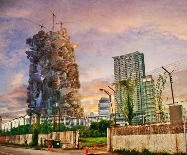 Поощрительная премия. Авторы: Khem Aikwanich, Nigel Westbrook (Тайланд, Австралия). Источник: www.evolo.us