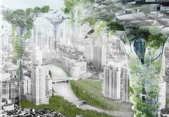 Поощрительная премия. Авторы: Zhang Zhiyang, Liu Chunyao (Китай). Источник: www.evolo.us