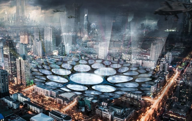 Поощрительная премия. Авторы: Xiaomia Xiao, Lixiang Miao, Xinmin Li, Minzhao Guo (Китай). Источник: www.evolo.us