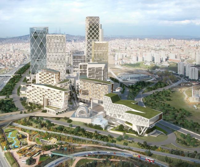 Стамбульский Международный финансовый центр © HOK