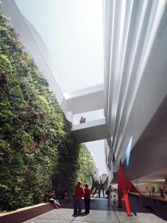 Новое крыло Музея современного искусства Сан-Франциско © Snohetta
