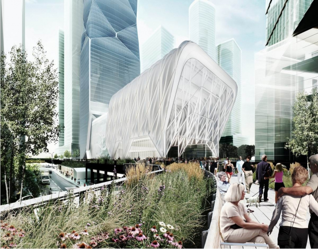 Павильон Culture Shed. Предоставлено Diller Scofidio + Renfro и Rockwell Group