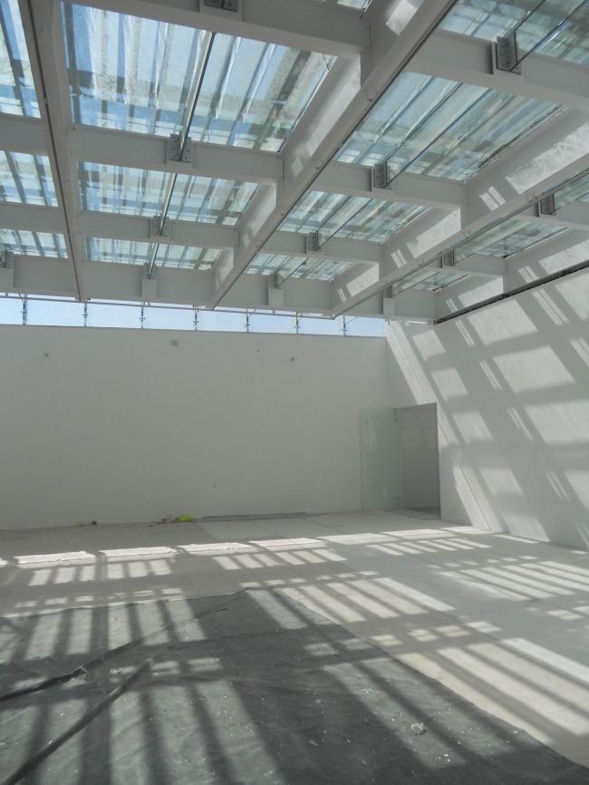 Музей Ампаро - реконструкция © Luis Gordoa