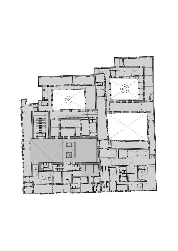 Музей Ампаро - реконструкция © Enrique Norten/TEN Arquitectos