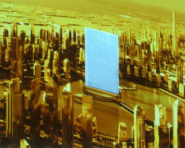 Проект делового и гостиничного комплекса «Ренессанс» для Дубай бюро ОМА