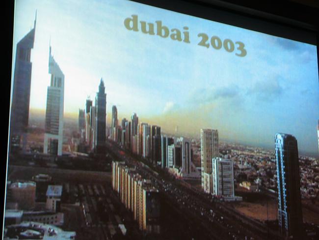 Дубаи в 2003г