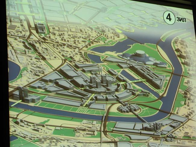 Проект развития территории завода ЗИЛ