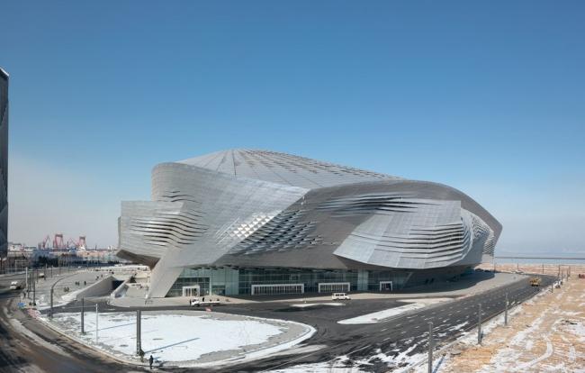 Даляньский международный конференц-центр © Coop Himmelb(l)au