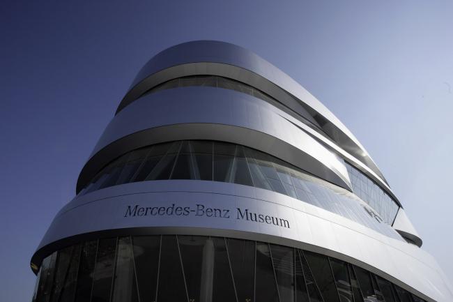 Музей Mercedes-Benz в Штутгарте ©Daimler AG