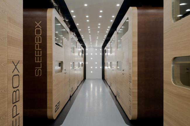 «Sleepbox hotel Тверская». Архитектурное бюро «Арх Груп». Фотография Ильи Иванова