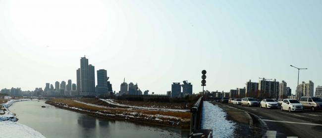 Шоссе Дмемульпо-Джил (Jemulpo-gil) в Сеуле. Одна из территорий, которую участникам конкурса предстоит регенерировать.