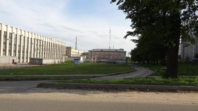 Город Выкса. Одна из территорий, которую предстоит обновить участникам конкурса