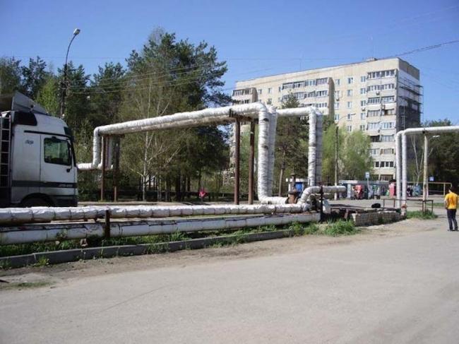 Город Выкса. Одна из территорий, которую предстоит обновить участникам конкурса.