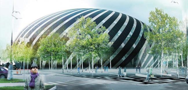 «Farshid Moussavi Architecture» (Великобритания) и Архитектурное бюро «Рождественка» (Россия)(6004)