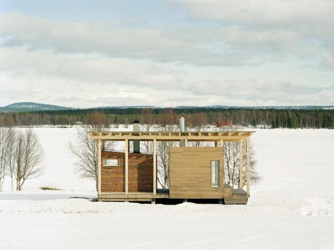 Сауна Tuuliniemi. Фото © Jussi Tiainen