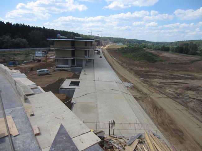 Корпоративный университет Сбербанка на Истре в процессе строительства. Фотография предоставлена бюро Эрика ван Эгераата