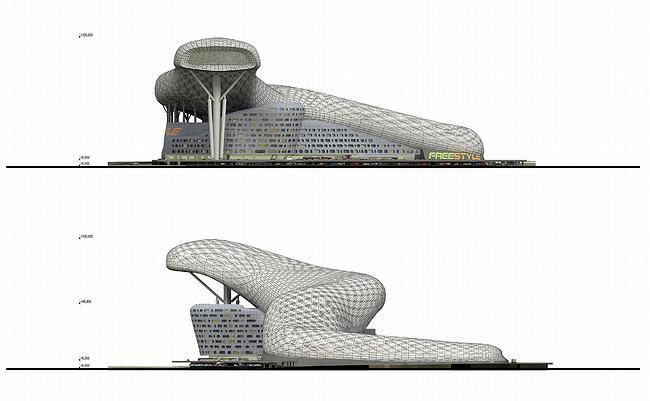 Развлекательный комплекс «Фристайл Парк» © ABD architects
