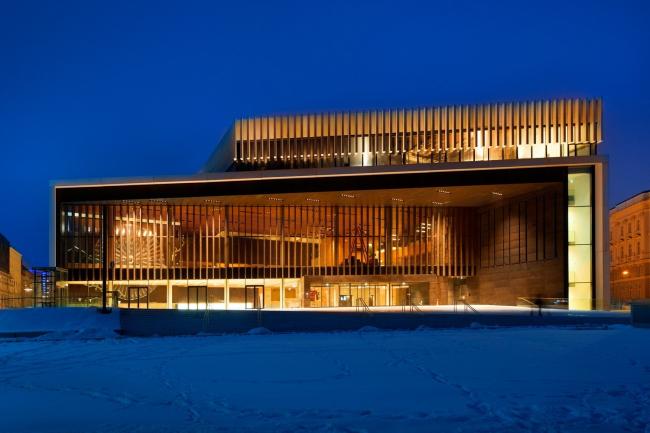 Музыкальный театр в Линце. Фото © Sigrid Rauchdobler