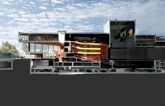 Музыкальный театр в Линце © Terry Pawson Architects