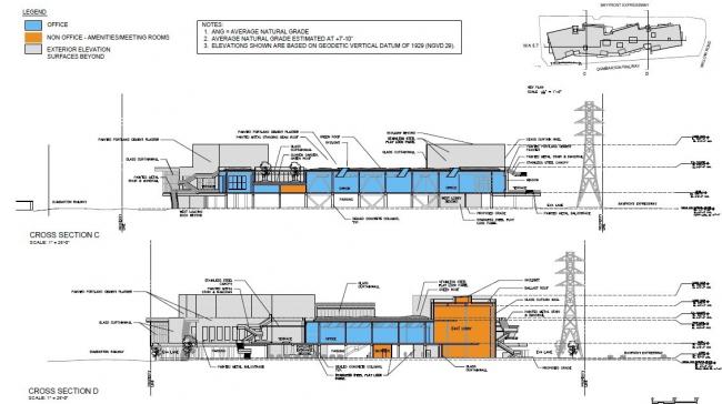 Западный кампус компании Facebook. Вариант 02/2013. Изображение с сайта menlopark.org