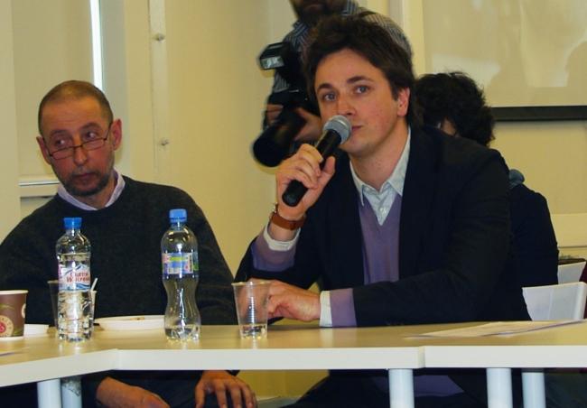 Александр Бродский и Николай Ляшенко. Фотография Аллы Павликовой