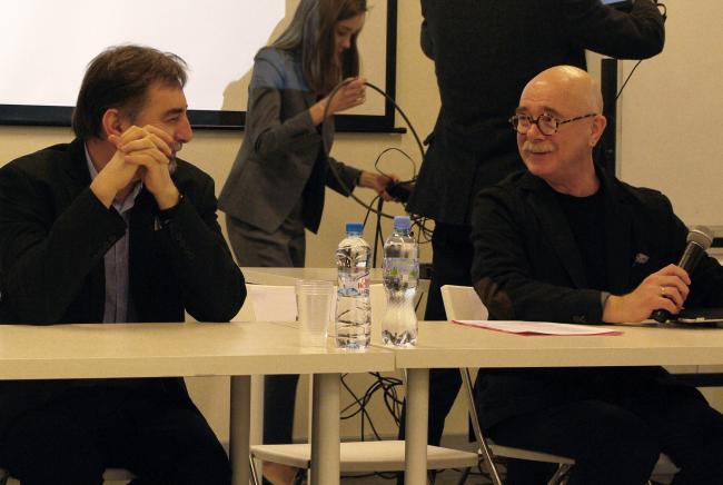 Сергей Скуратов и Евгений Асс. Фотография Аллы Павликовой