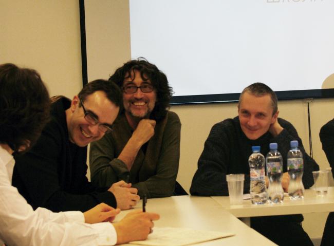 Слева: Рубенс Кортес. Фотография Аллы Павликовой