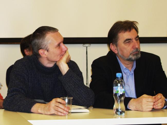 Сергей Ситар и Сергей Скуратов. Фотография Аллы Павликовой