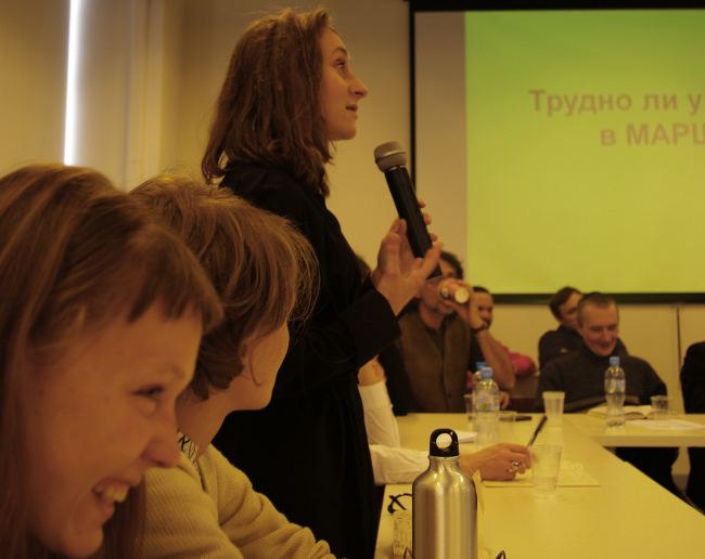 Студенты о школе. Фотография Аллы Павликовой