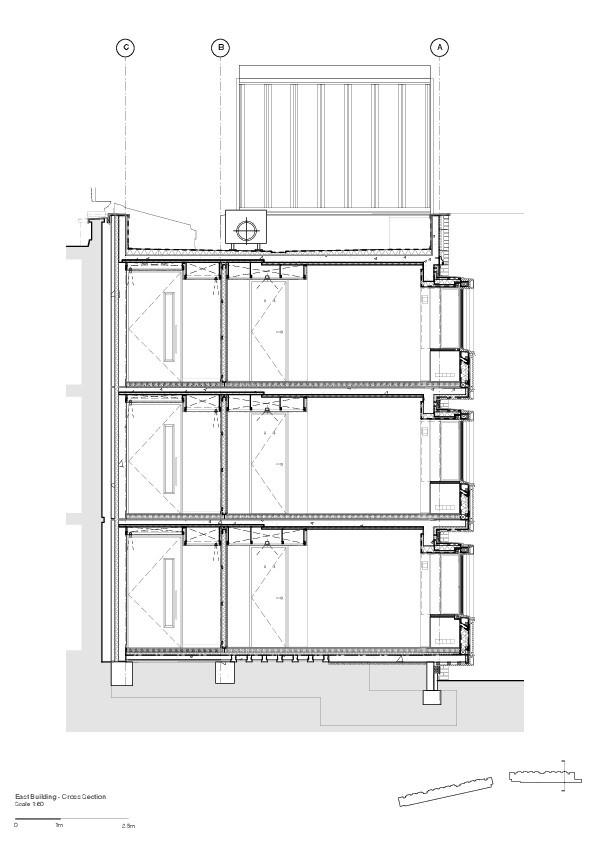 Общежитие Сомервилл-колледжа © Niall McLaughlin Architects