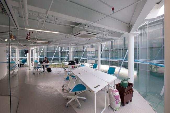 Офис Transformadora CIEL © Jaime Navarro