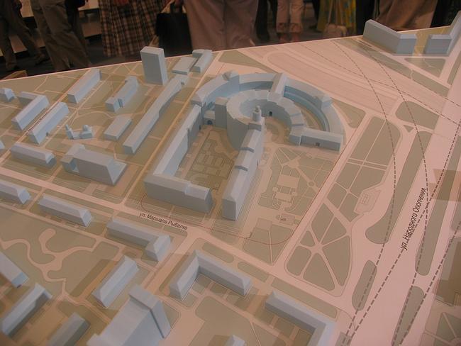 Предпроект многофункционального жилого комплекса на ул. Маршала Рыбалко,2