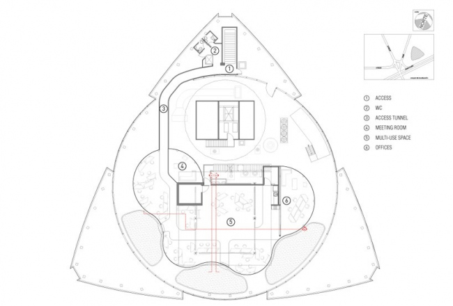 Офис Transformadora CIEL © Rojkind Architectos