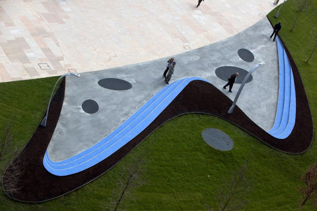 Площадь Эускади © Iwan Baan