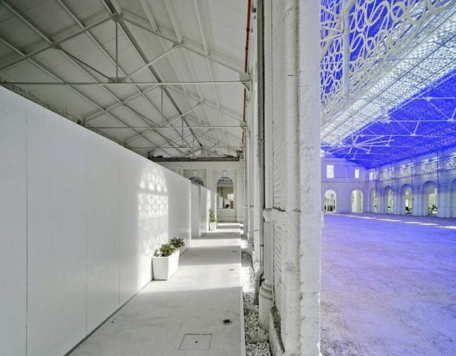 Перестройка вокзала Беналуа в офис Casa Mediterraneo © David Frutos
