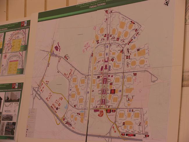 Проект размещения гаражного строительства в районе «Ясенево»