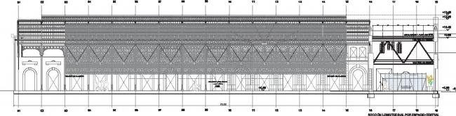 Перестройка вокзала Беналуа в офис Casa Mediterraneo © Manuel Ocaña del Valle