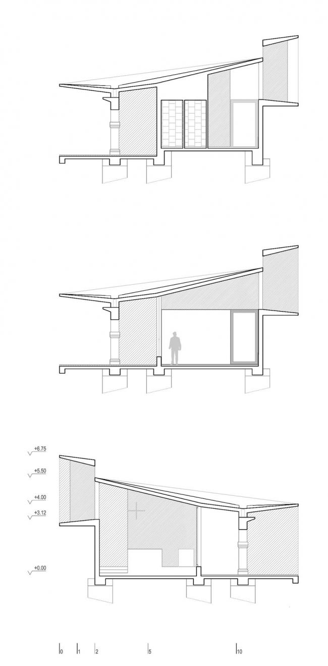 Часовня Нуэстра-Сеньора-де-ла-Антигуа © Otxotorena Arquitectos