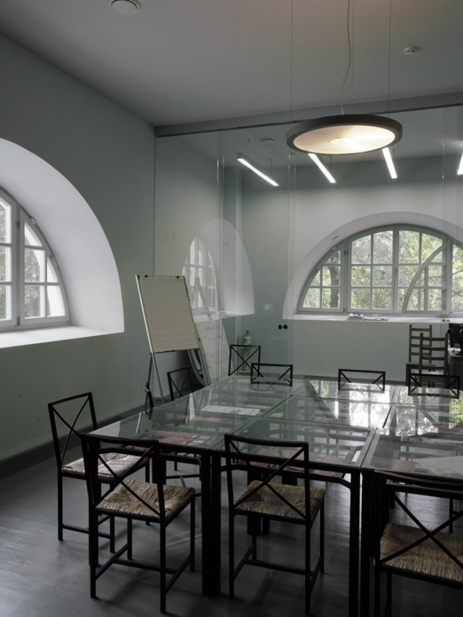 Филиал ГЦСИ в здании Арсенала в Нижнем Новгороде. Первая очередь строительства. Кабинет директора © Архитекторы Асс