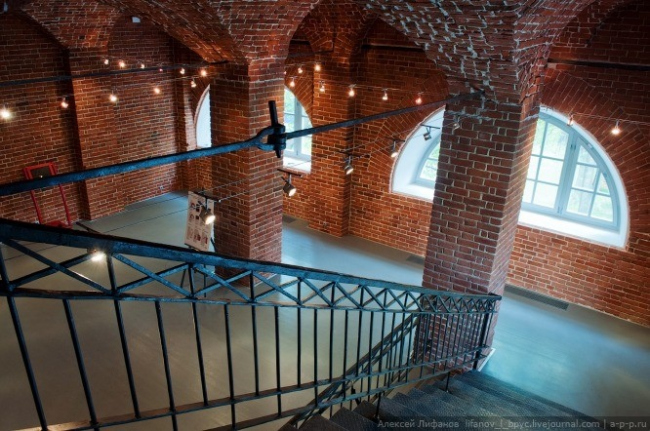 Филиал ГЦСИ в здании Арсенала в Нижнем Новгороде. Первая очередь строительства. 2011 год. Фотография © Алексей Лифанов