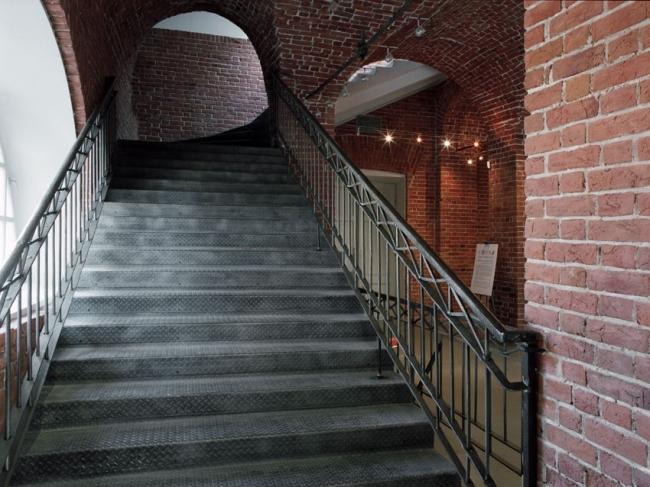 Филиал ГЦСИ в здании Арсенала в Нижнем Новгороде. Первая очередь строительства. 2011 год © Архитекторы Асс