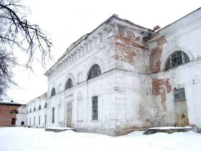 Филиал ГЦСИ в здании Арсенала в Нижнем Новгороде. Арсенал до реконструкции © Архитекторы Асс